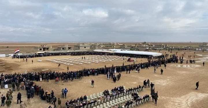 من التراب إلى التراب: كوجو الإيزيدية تستعيد رفات 104 من أبنائها